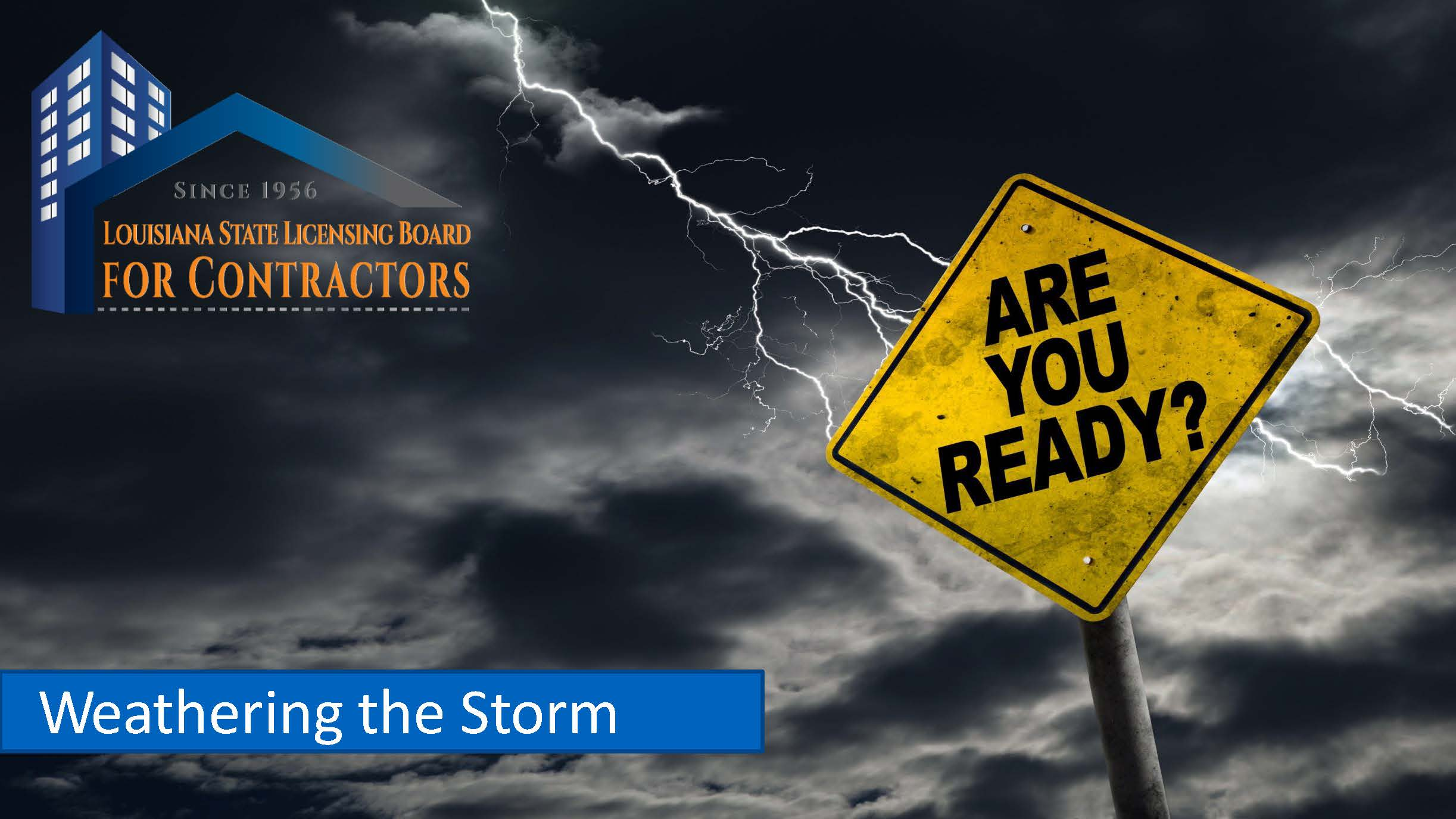 Weathering the Storm 2021